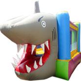 Brinca Brinca con Figura de Tiburón 3x4 2