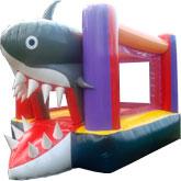 Brinca Brinca con Figura de Tiburón 3x4